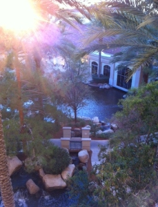 The view from my hotel room.:) Las Vegas Writer's Conference, October 2013.